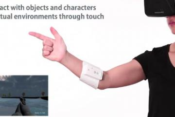 UnlimitedHand UH-01 Haptic VR Game Controller