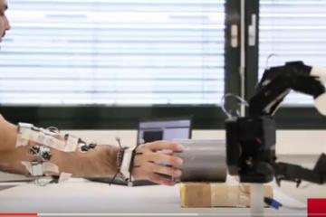 EMG-based Teleoperation of Robots Using Cyberglove & Muscle Sensors