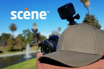 Scene Cap with Built-in GoPro / Smartphone Mount