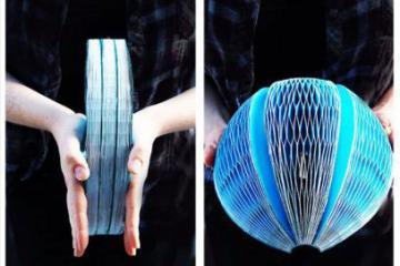 EcoHelmet Folding, Recyclable Helmet