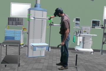 Skytron's Virtual Reality Operating Room