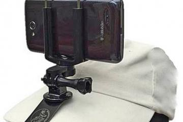 Streamaroo for GoPro – Removable Hat Mount