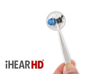 iHEARHD High Fidelity Invisible Hearing Aid