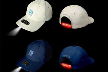 illumi-cap: Solar Powered LED Cap with Pedometer