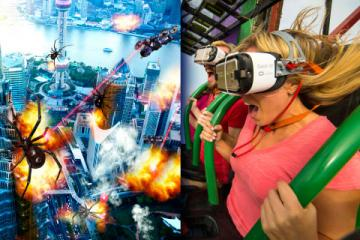 North America's First Drop Tower VR Ride Launches at Six Flags Over Georgia