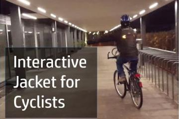 DIY: Interactive Jacket for Cyclists with Arduino
