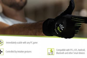 CaptoGlove: Wearable Controller for PCs, Smartphones