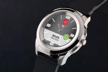 ZeTime Smartwatch with Round Color Touchscreen & 30-day Battery