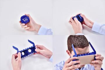 Micro VR Kit: Smallest Smartphone VR Goggles?