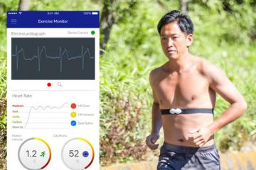 CALM Wearable ECG for Health & Fitness