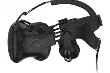 HTC Vive Deluxe Audio Strap for More Comfortable VR Gaming