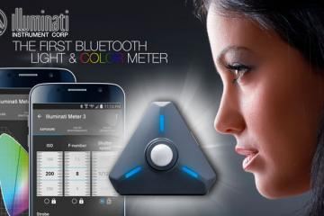 Illuminati Wireless Wearable Light & Color Meter