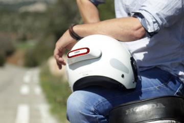 Cosmo Detachable Smart Brake Light for Your Helmet