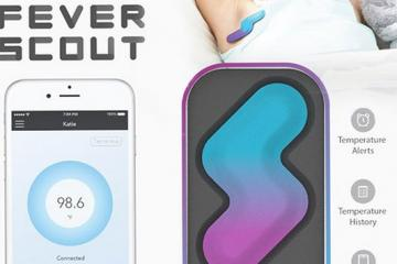 Fever Scout Wearable Thermometer