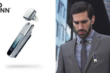 Pinn Wearable Bluetooth Clip Keeps You Connected