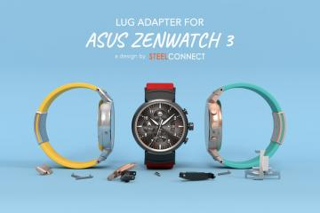 SteelConnect AZ3 – Asus Zenwatch 3 Lug Adapter