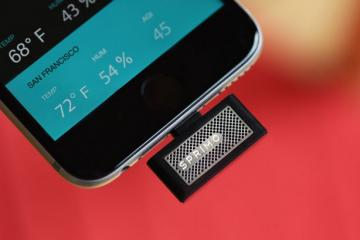 Sprimo Turns Your iPhone Into an Air Quality Monitor