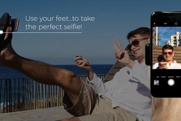 SelfieFeet 2.0: Take Selfies with Your Feet