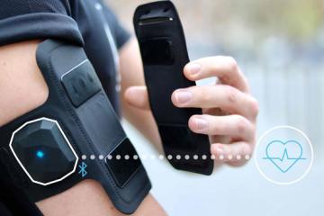 Shapeheart Armband: Heart Tracking + Phone Holder