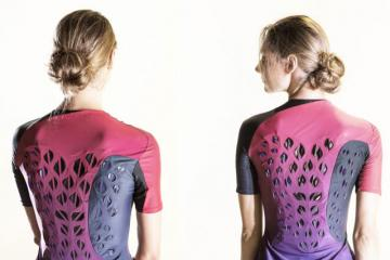 MIT's Moisture-responsive Workout Suit Keeps Athletes Comfortable
