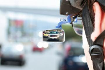 Sehen: Wearable Rear View Mirror
