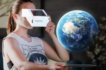 Aryzon 3D Augmented Reality Headset for Smartphones