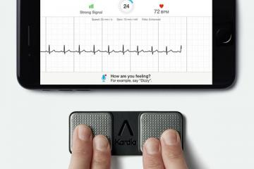 AliveCor Kardia Mobile ECG Device for iOS / Android