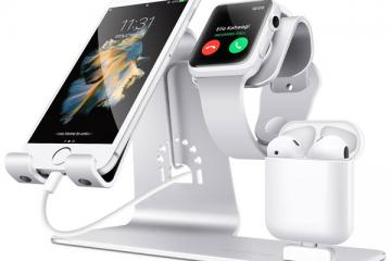 Bestand 3 in 1 Apple Watch Stand
