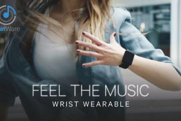 BeatWare: Wearable Lets You Feel The Music