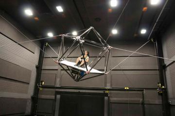 CableRobot Simulator for VR