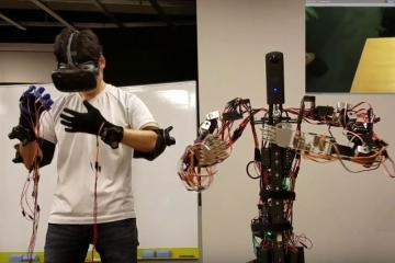 GITAI Telepresence Robot with VR Control