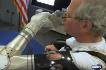 DARPA's LUKE Arm Given to Veterans