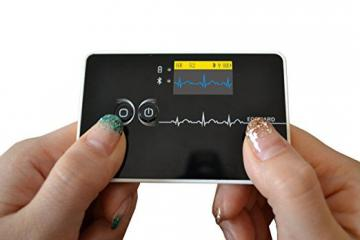 ECG Card E100 Displays Your Heart Activity