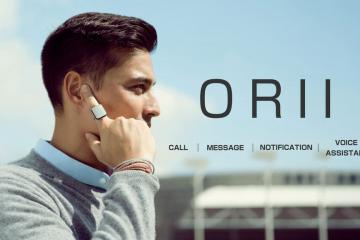ORII Voice Powered Smart Ring with Bone Conduction