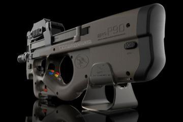 MAG P90 Gun Controller for HTC Vive