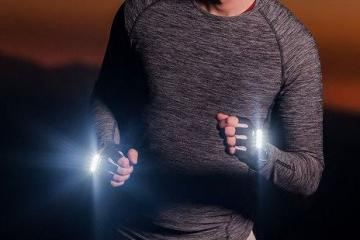 RunLites Rechargeable Lighted Gloves