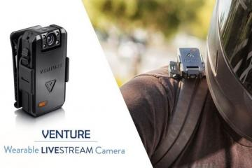 VENTURE Wearable, Clippable 4-in-1 Camera