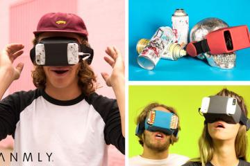 ANMLY Model A: Smartphone VR Headset