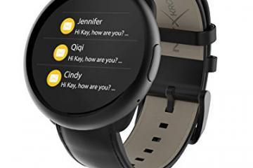 MyKronoz ZeRound2HR Smartwatch for iOS