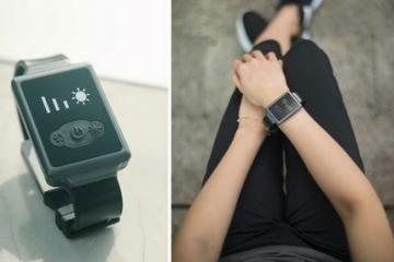 Aircon Watch Cools/Warms Your Body