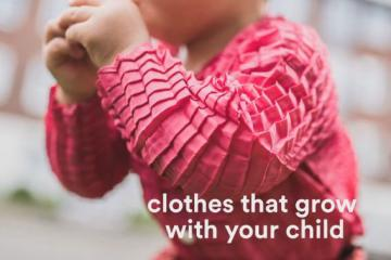 Petit Pli Clothes Grow with Your Children