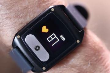 VitalBand Smartwatch with Fall Detection