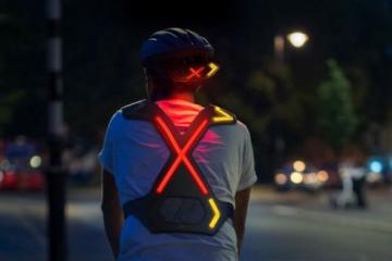 WAYV Wearable Safety Lights for Cyclists