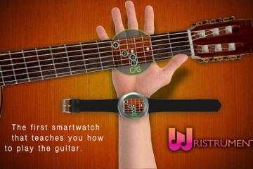 Wristruments: Use a Smartwatch to Learn Guitar