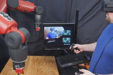 MIT Controlling Robots with Oculus Rift