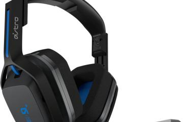 ASTRO A20 Wireless Headset for PlayStation