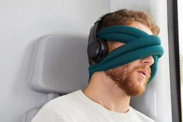 OstrichPillow Loop Eye Pillow Help You Disconnect