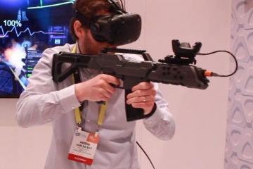 BENEVE Gun HTC Vive Controller Has Recoil