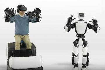 Toyota Humanoid Robot T-HR3 Mimics Your Moves