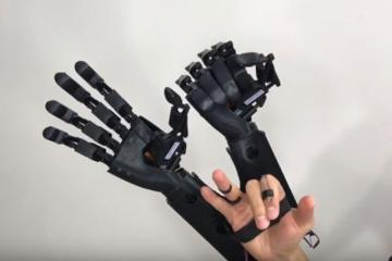 3D Printed Wearable Double Robot Hand
